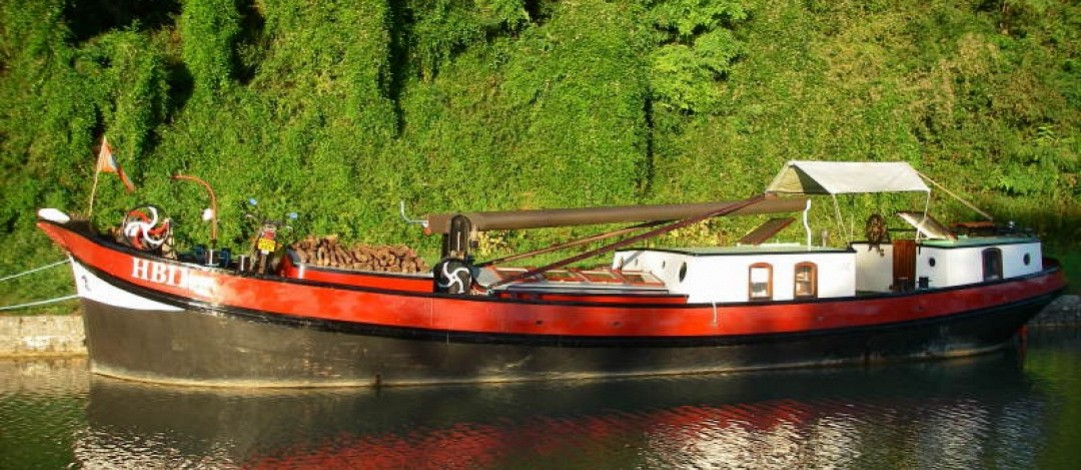 17m Dutch klipper barge