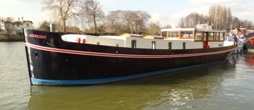 New build 24m Luxemotor Dutch barge