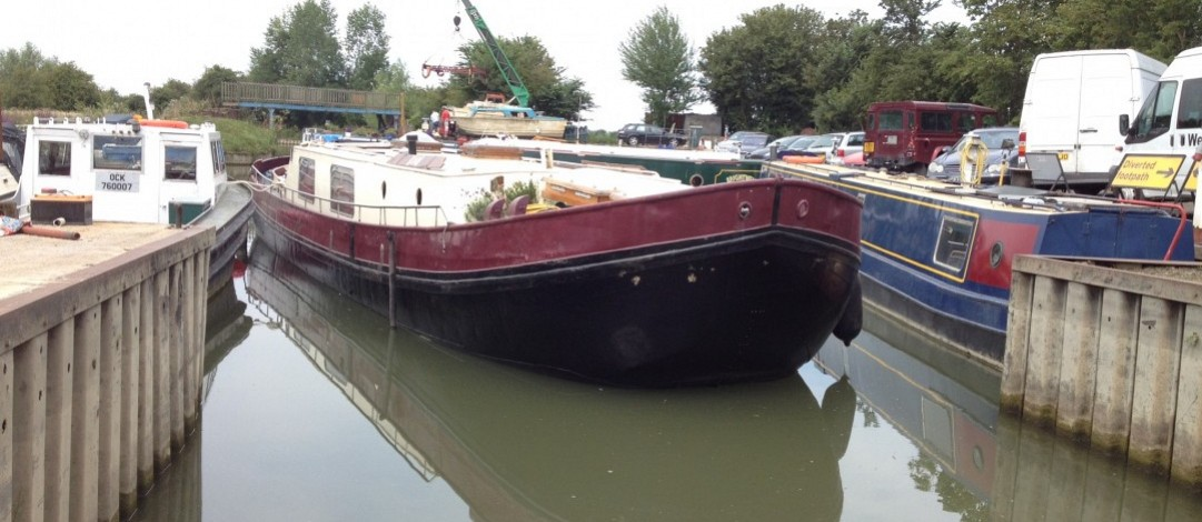 17m Dutch barge Aak type