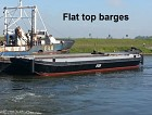 FLAT TOP BARGES