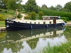 20m replica Dutch barge